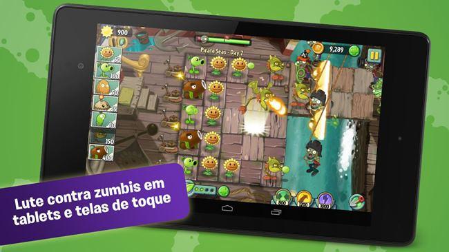 plants-vs-zombies-2 Android: 25 Jogos Offline Para Baixar Grátis #3