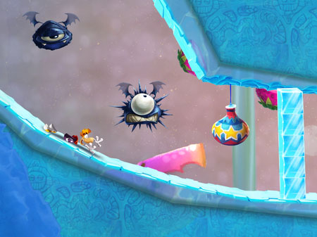 rayman-fiesta-run-android-game-1 Rayman Fiesta Run é a continuação de Jungle Run para Android e iOS