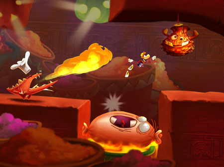 rayman-fiesta-run-android-game-2 Rayman Fiesta Run é a continuação de Jungle Run para Android e iOS