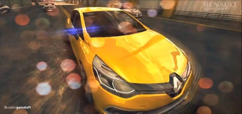 renault-clio-RS Clio R.S no Asphalt 8 (Vídeo)