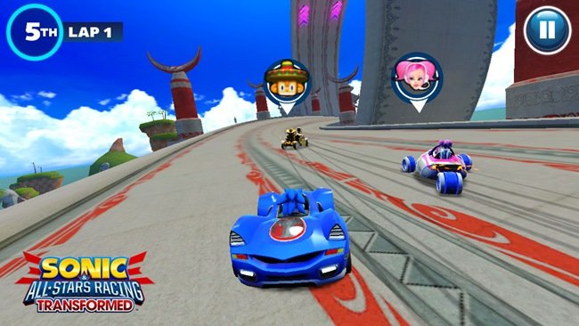 sega-sonic-all-star-racing-transformed Jogos para Android e iOS em 2014: Sonic AR Transformed, Final Fantasy 6 e Modern Combat 5