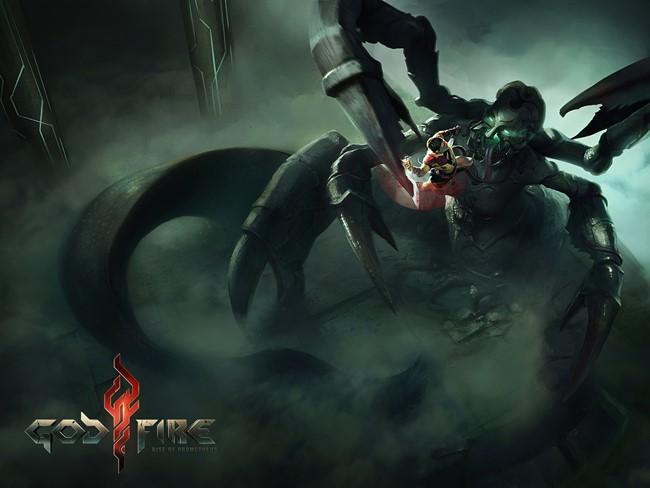 "Godfire_Fight_1 Godfire será o ""God of War"" do Android em 2014?"