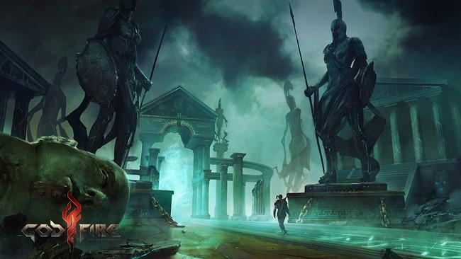 "Godfire_Temple_2 Godfire será o ""God of War"" do Android em 2014?"