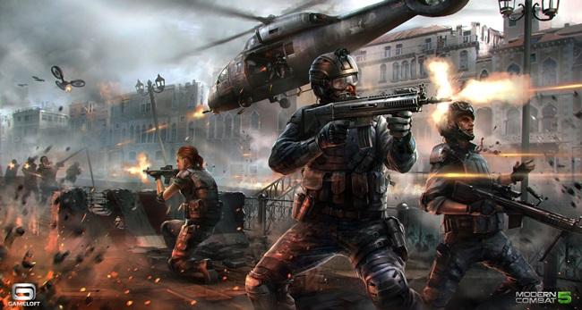 MTK_illustration_08 Gameloft e MediaTek se unem para revolução gráfica em Modern Combat 5 no Android