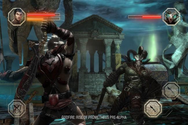 """Pre-Alpha_Screenshot01 Godfire será o """"God of War"""" do Android em 2014?"""