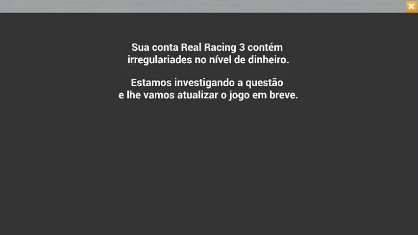 Real-racing-3-jogador-banido EA, Gameloft e outras empresas começam a banir jogadores trapaceiros no Android e iOS