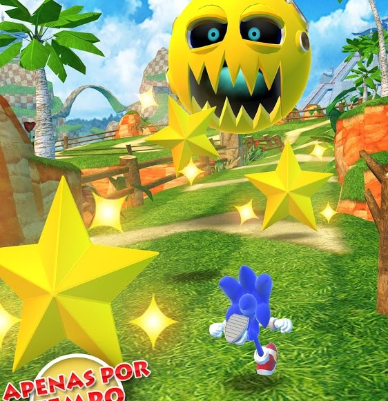 Sonic-Dash-Android Jogos para Android Grátis - Sonic Dash