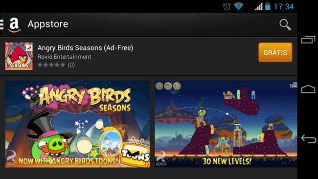 amazon-appstore-android2 Amazon Appstore no Brasil: Baixe jogos pagos de graça para Android