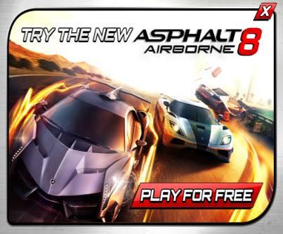 asphalt8- Asphalt 8 está grátis no Android e iOS (por tempo limitado)