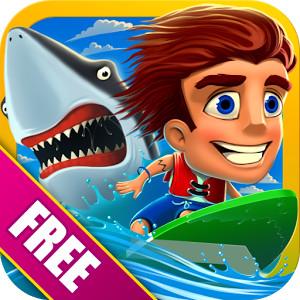 banzai-surfer-free Jogos para Android Grátis - Banzai Surfer Free