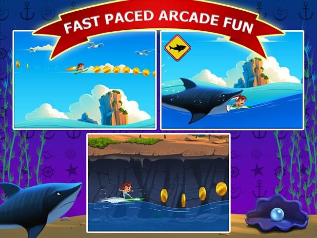 banzai-surfer-free1 Jogos para Android Grátis - Banzai Surfer Free
