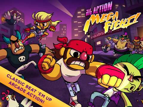 big-action-mega-fight Jogos para iPhone/iPod Touch/iPad Grátis - Big Action Mega Fight!