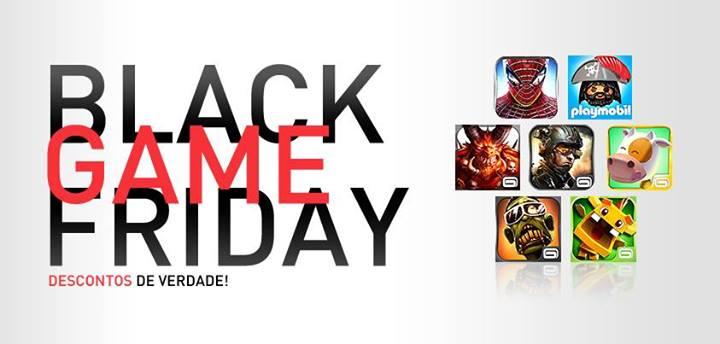 black-friday-gameloft Black Friday: Gameloft dá desconto de até 50% em itens de jogos, aproveite!