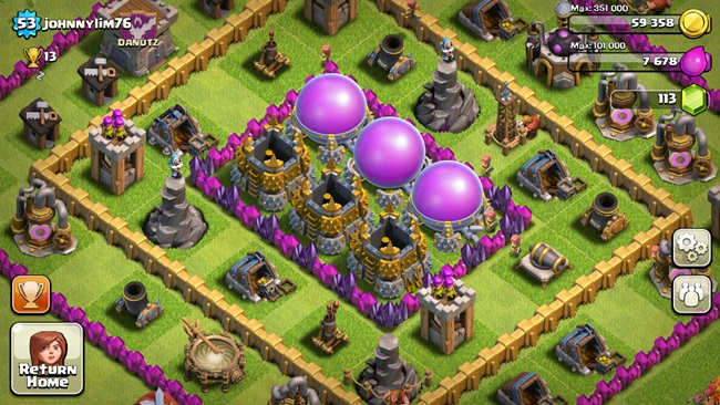 clash-of-clans Melhores Jogos para Android Grátis – Outubro 2013