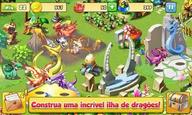 dragon-mania-android-1 Jogos para Android Grátis - Dragon Mania