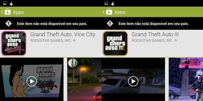 gta-3-vice-city-fail-android GTA San Andreas pode não chegar à Google Play Brasileira; Entenda!