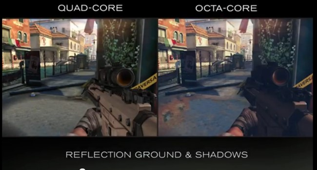 """modern-combat-5-octa-core Video mostra Modern Combat 5 rodando em processador """"true"""" octa-core"""