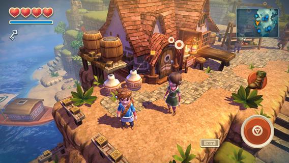 """oceanhorn-1 Review: Oceanhorn é um novo game em """"estado da arte"""" para iOS"""