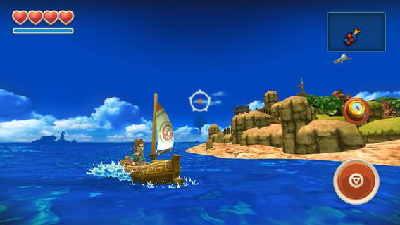 """oceanhorn-2 Review: Oceanhorn é um novo game em """"estado da arte"""" para iOS"""