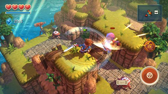 """oceanhorn-3 Review: Oceanhorn é um novo game em """"estado da arte"""" para iOS"""