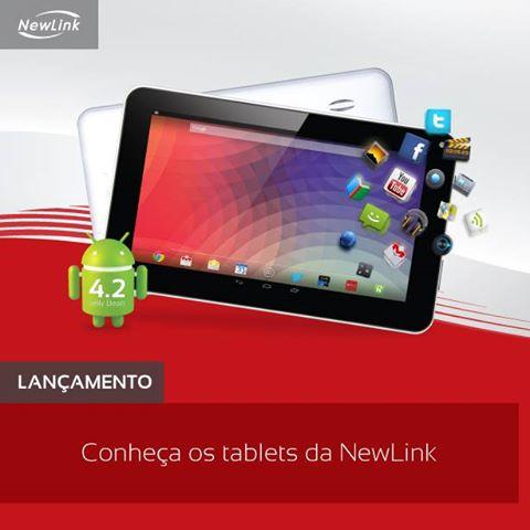 tablet-newlink Custando menos de R$ 500, tablets da NewLink são ótimas opções de presentes de Natal