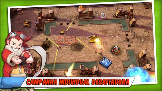 tank-battles-explosive-fun Melhores jogos para iPhone, iPod Touch e iPad da semana #1