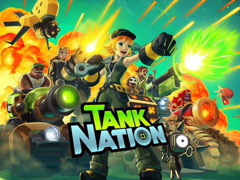 tanknation Jogos para iPad Grátis - Tank Nation