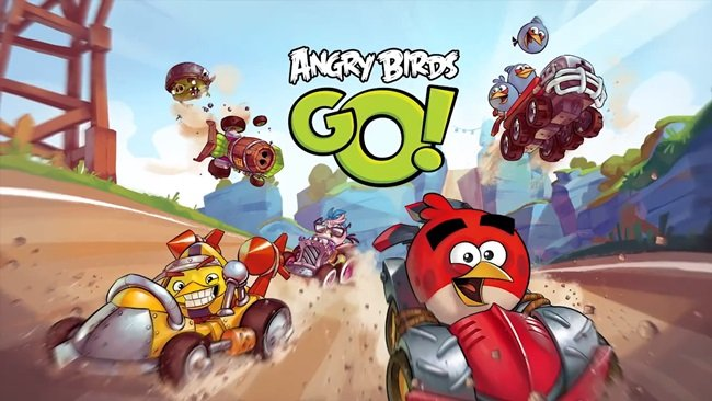 Angry-Birds-Go Angry Birds Go! chega antecipado para iPhone, iPod Touch e iPad
