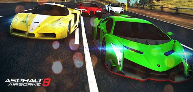 asphalt-8-android-ios Melhores Jogos da Gameloft para Android e iOS em 2013