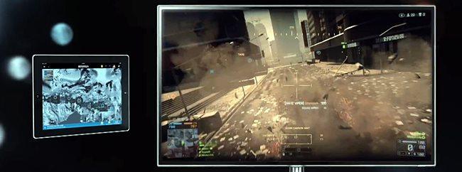 """battlefield4 """"Estamos fazendo experiências com tablets e celulares"""", diz Nintendo"""