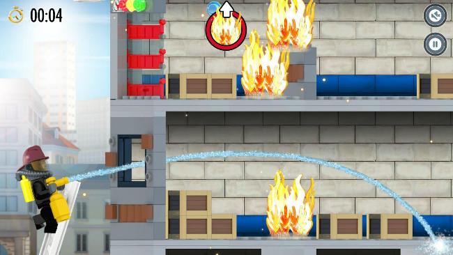 lego-city-android-1 Jogos para Android Grátis - LEGO City Fire Hose Frenzy