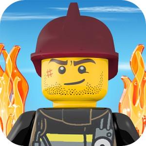 lego-city-android Jogos para Android Grátis - LEGO City Fire Hose Frenzy