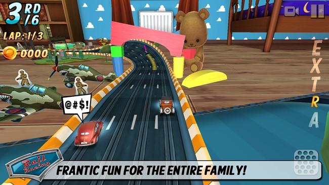 rail-racing-autorama Rail Racing é o jogo de Autorama que você sempre sonhou