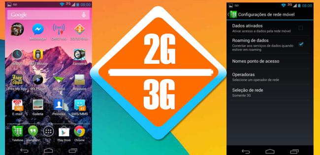 2g-3g-4g-atalho Aplicavos Essenciais para Android - Atalho 2G/3G (ou 4G)