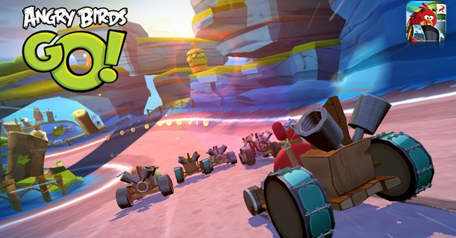 Angry-Birds-Go-screen-3 25 Melhores Jogos Grátis para iPhone e iPad – 2º Semestre de 2013
