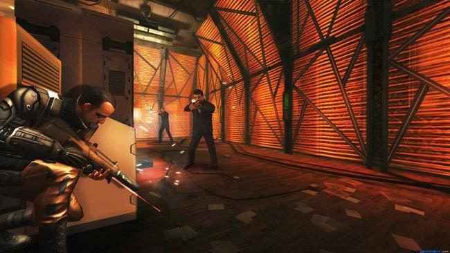 """Deus_Ex__The_Fall_13733135813620 Deus EX: The Fall está em Promoção por """"Pi"""" reais (Android)"""