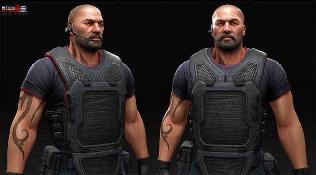 Mashru_Mishu_o-mm-o-modern-combat-4-zero-hour-6 Veja a arte na criação dos personagens dos jogos da Gameloft