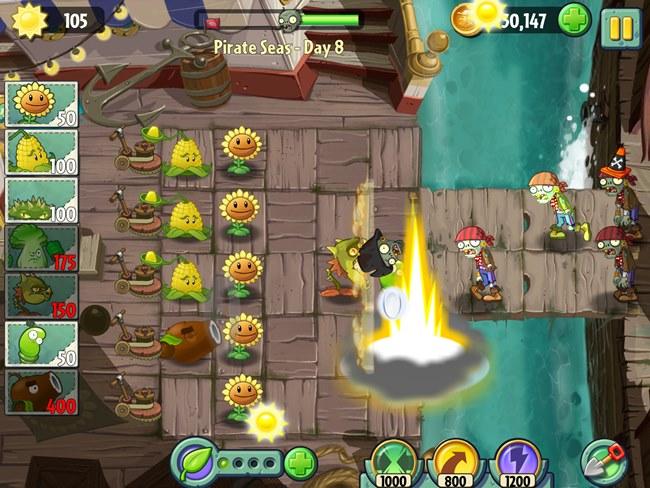 Plants-Vs-Zombies-2-4 25 Melhores Jogos Grátis para iPhone e iPad – 2º Semestre de 2013