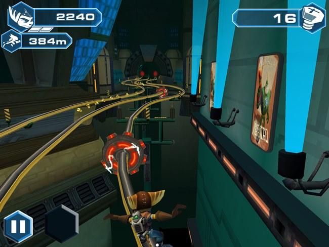 Ratchet-clank-ios 25 Melhores Jogos Grátis para iPhone e iPad – 2º Semestre de 2013