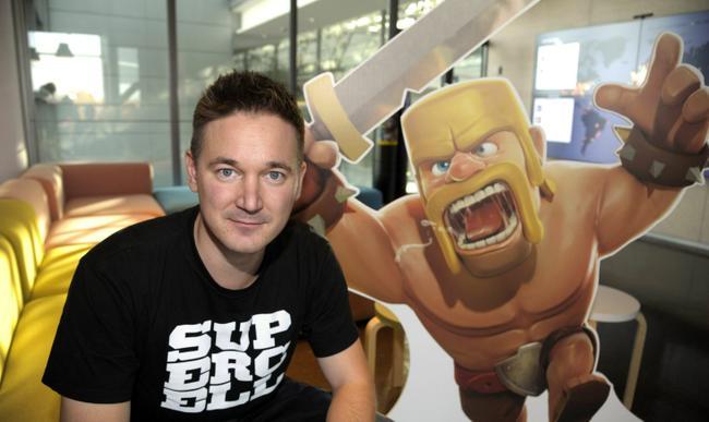 Supercell-CEO-Ilkka-Paananen. Tencent compra a Supercell, a produtora de Clash of Clans e Clash Royale