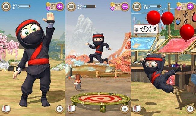 clumsy-ninja-ios 25 Melhores Jogos para Android Grátis - 1° Semestre de 2014