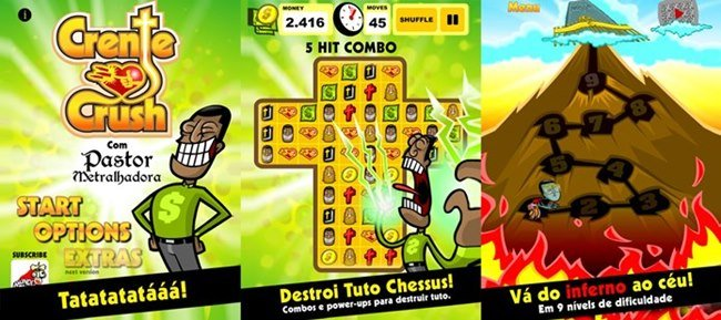 crente-crush-android Melhores Jogos para Android da Semana #2/2014