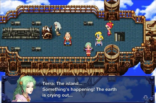 final-fantasy-6-android Final Fantasy VI para Android apresenta bug que impossibilita terminar o jogo