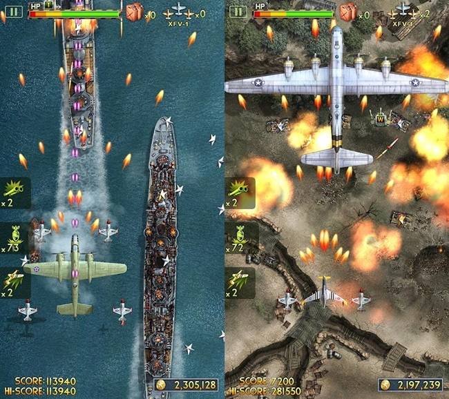 ifighter-2-android-1 Jogos para Android e iOS Grátis - iFighter 2: The Pacific 1942