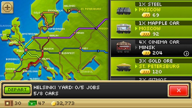 pocket-trains-650-2 25 Melhores Jogos Grátis para iPhone e iPad – 2º Semestre de 2013