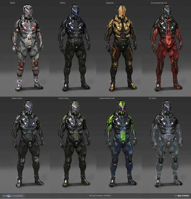 """redsteam-ios-project-sobaku-chiuchiu-color-variations Conheça """"Conquistador"""", jogo cancelado da Gameloft que lembra """"Dead Space"""""""