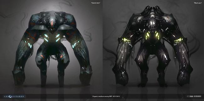 """redsteam-ios-project-sobaku-chiuchiu-enemies-roughs Conheça """"Conquistador"""", jogo cancelado da Gameloft que lembra """"Dead Space"""""""