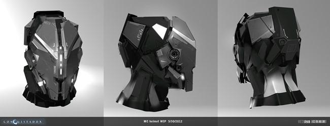 """redsteam-ios-project-sobaku-chiuchiu-helmet-sketch Conheça """"Conquistador"""", jogo cancelado da Gameloft que lembra """"Dead Space"""""""