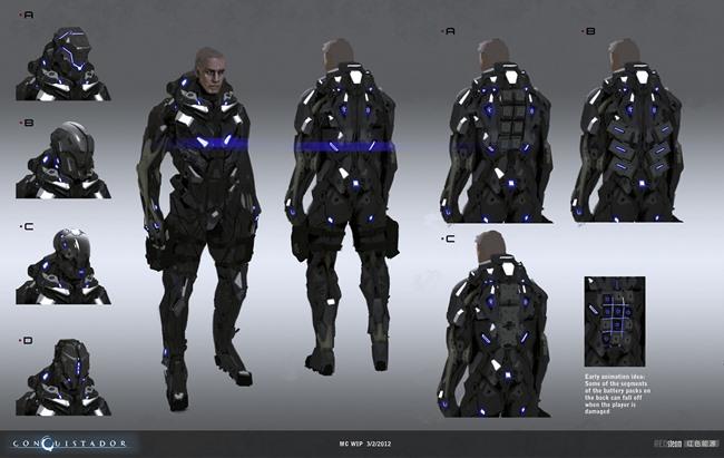 """redsteam-ios-project-sobaku-chiuchiu-mc-suit-helmet-developm Conheça """"Conquistador"""", jogo cancelado da Gameloft que lembra """"Dead Space"""""""