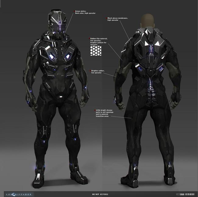 """redsteam-ios-project-sobaku-chiuchiu-mc-suit Conheça """"Conquistador"""", jogo cancelado da Gameloft que lembra """"Dead Space"""""""